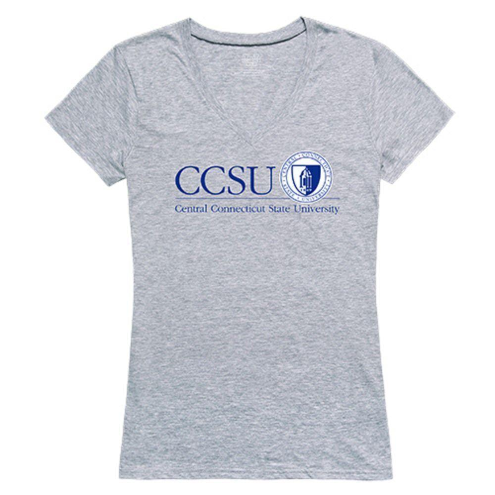 Central Connecticut State University Blue Devils NCAA Women's Seal Tee T-Shirt