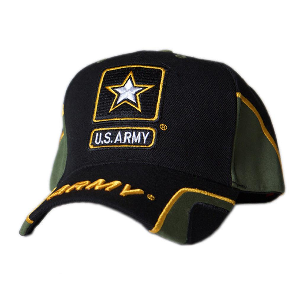 fb00e55b41713 US Honor Embroidered Force Army Star Logo Baseball Caps Hats – Serve ...