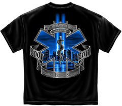 Erazor Bits T-Shirt - Emergency Medical Service - EMS 9/11/2001 - 2011 Tribute -