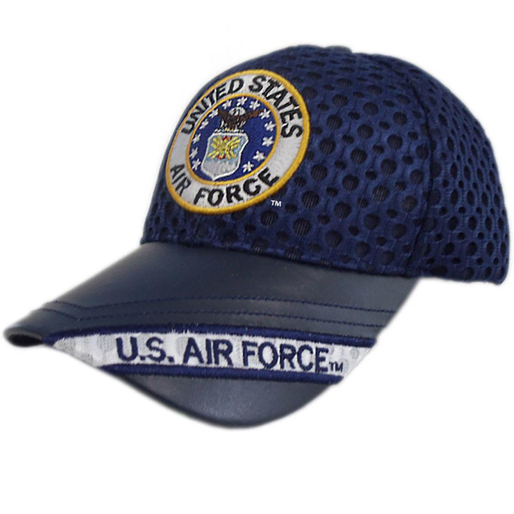 US Honor Official Embroidered Air Flow Air Force Round Logo Baseball Caps Hats