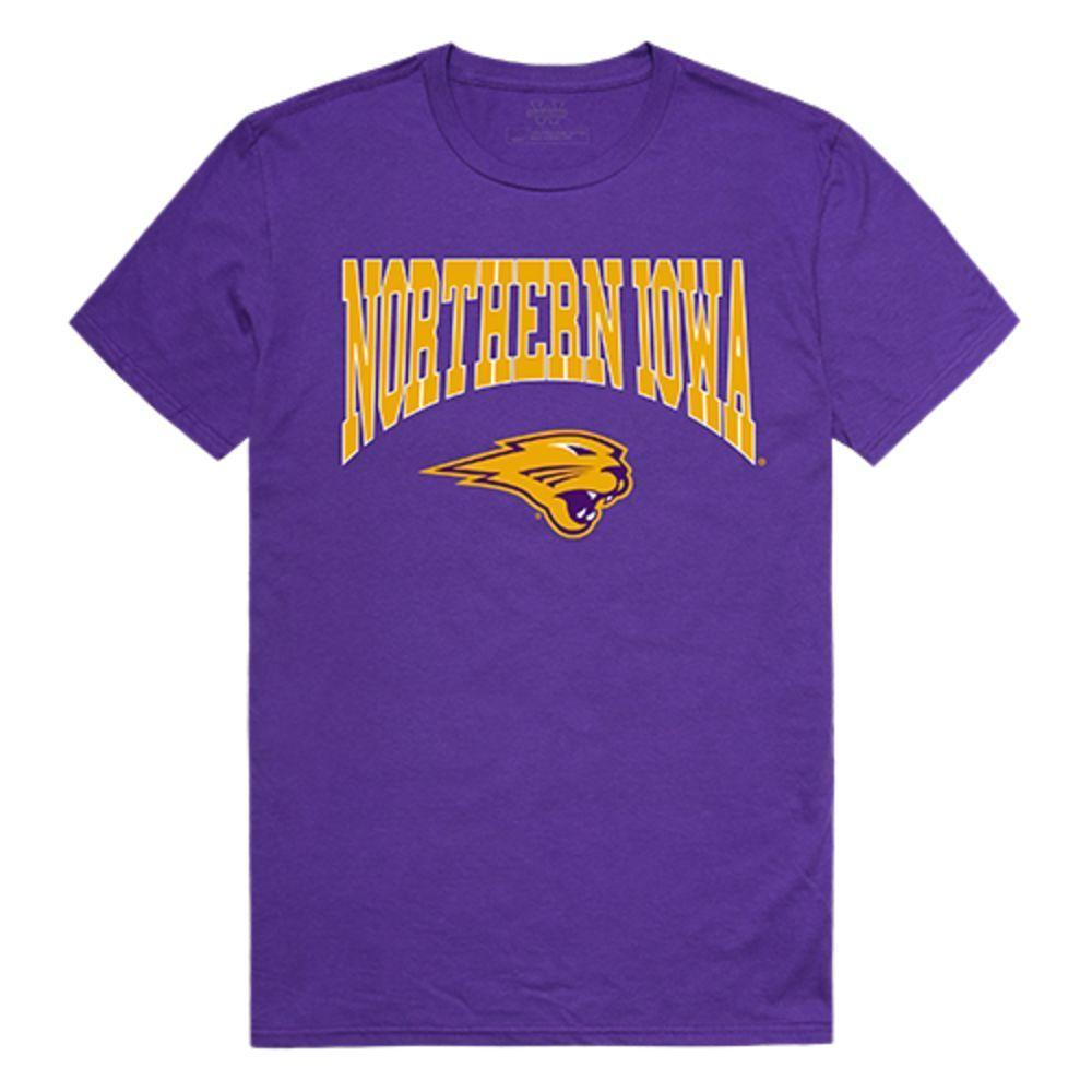 University of Northen Iowa Panthers NCAA Athletic Tee T-Shirt Purple