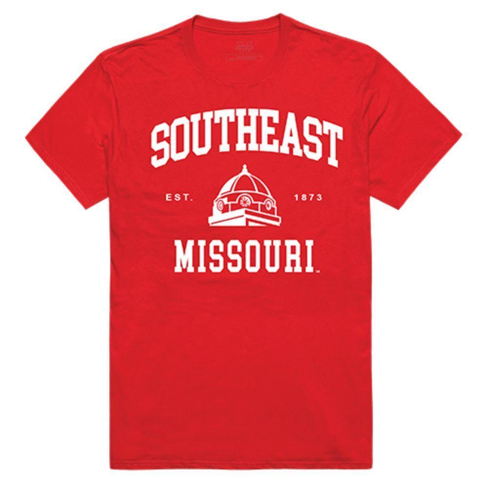 Southeast Missouri State University Redhawks NCAA Seal Tee T-Shirt Red