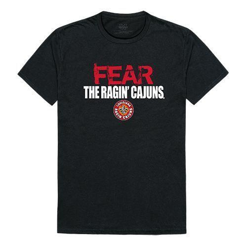 University of Louisiana at Lafayette Ragin' Cajuns NCAA Fear Tee T-Shirt