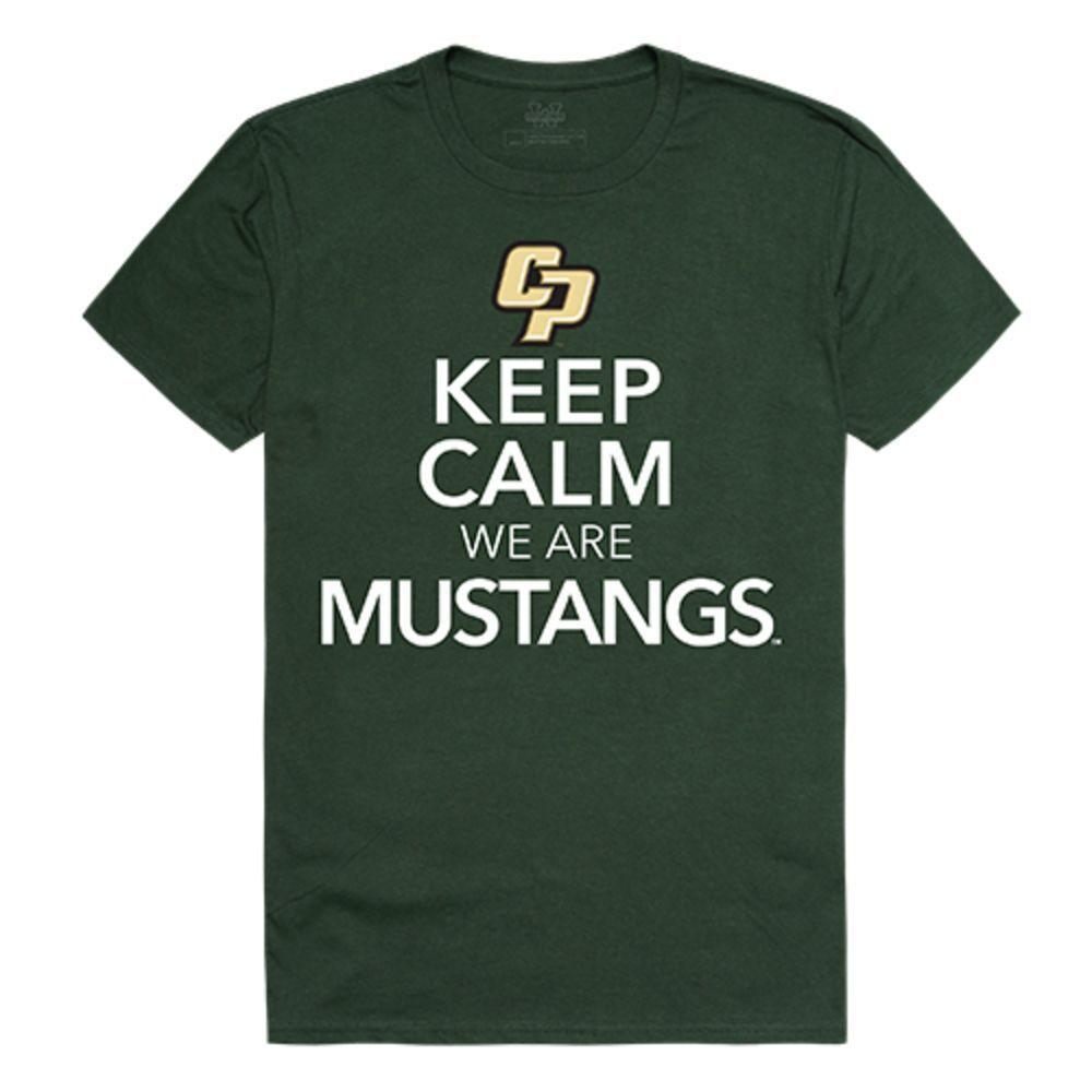 California Polytechnic State University Mustangs NCAA Keep Calm Tee T-Shirt
