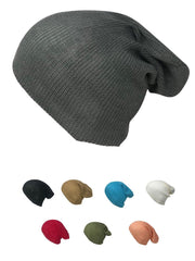 Casaba Stylish Long Slouch Beanies for Men Women 12 inch Skull Cap Toboggan Hat