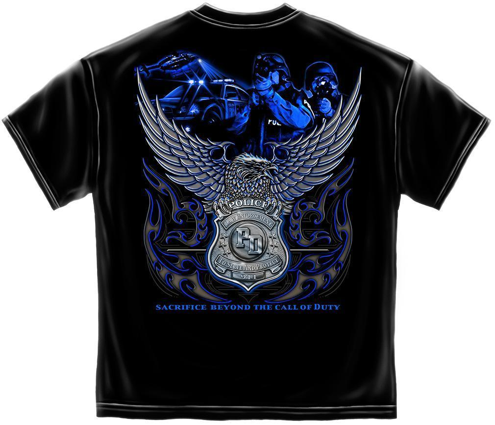 Erazor Bits T-Shirt - Elite Breed - Law Enforcement Sacrifice - Black