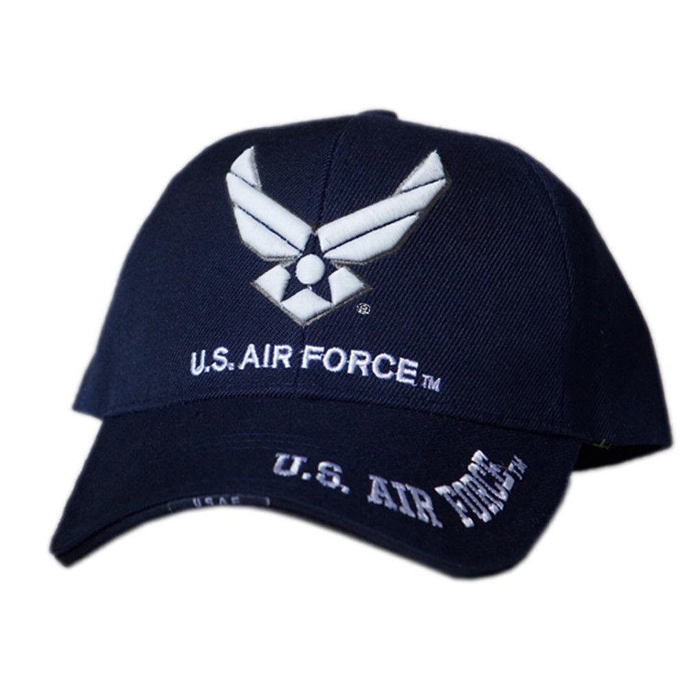 US Honor 3D Embroidered Air Force Wing Logo Baseball Caps Hats