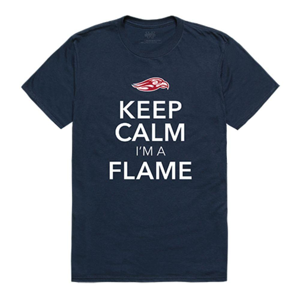 Liberty University Flames NCAA Keep Calm Tee T-Shirt