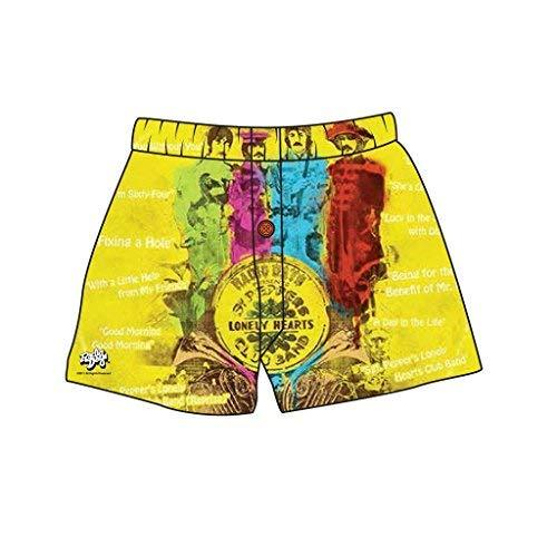 Brief Insanity Sargeant Peppers Lonely Hearts Silky Boxer Shorts Gifts for Men Women