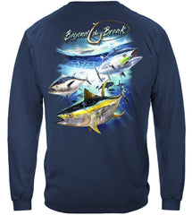 Tuna Time Off Shore Fishing Premium Fishing Long Sleeve T-Shirt