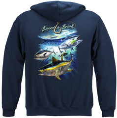 Tuna Time Off Shore Fishing Premium Fishing Hoodie Sweatshirt
