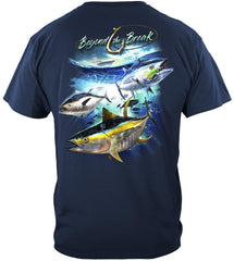 Tuna Time Off Shore Fishing Premium Fishing T-Shirt