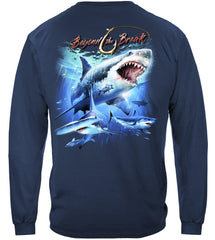 Shark Off Shore Fishing Premium Fishing Long Sleeve T-Shirt