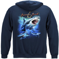Shark Off Shore Fishing Premium Fishing Hoodie Sweatshirt