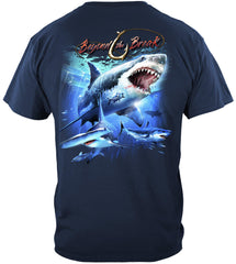 Shark Off Shore Fishing Premium Fishing T-Shirt