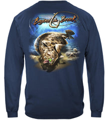 Fluke Fishing Premium Fishing Long Sleeve T-Shirt