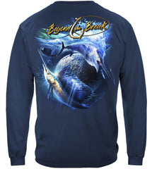 Sail Fish Baller Off Shore Fishing Premium Fishing Long Sleeve T-Shirt