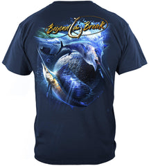 Sail Fish Baller Off Shore Fishing Premium Fishing T-Shirt