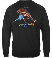 Patriotic SailFish Premium Fishing Long Sleeve T-Shirt