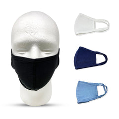 Cotton Face Mask Washable Reusable Soft Cloth Masks Single Layer Mouth Nose Ear