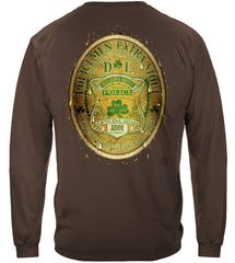Police DL Bottled by Ireland's Finest Police Premium Long Sleeve T-Shirt
