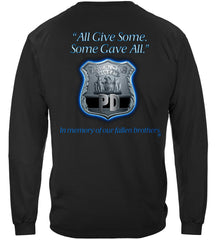 All Gave Some Law Enforcement Police Premium Long Sleeve T-Shirt
