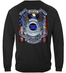 Honor our Fallen Officers Police Premium Long Sleeve T-Shirt