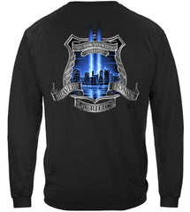 Aftermath High Honors Police Law Enforcement Premium Long Sleeve T-Shirt
