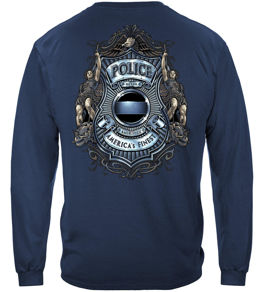 Police America's Finest JusticePremium Long Sleeve T-Shirt
