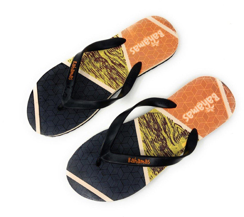 Bahamas Mens Flip Flops Premium Comfort Thong Soles Sandals Slippers Tropical Beach