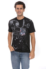 Dark Star Space Time 1984 Insane Soft T-Shirt Tee Printed Pocket Black