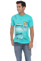 Deep Sea Mahi Ocean Fish Fishing Yacht Soft T-Shirt Tee