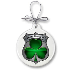 Policeman's Brotherhood Irish Christmas Tree Ornaments