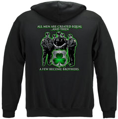 Police Policeman's Brotherhood Irish Premium Hoodie Sweatshirt