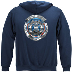 Police Honor Courage Sacrifice Badge Premium Hoodie Sweatshirt