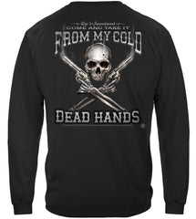 2nd Amendment Come and Take it From My Cold Dead Hands Premium Long Sleeves Shirt