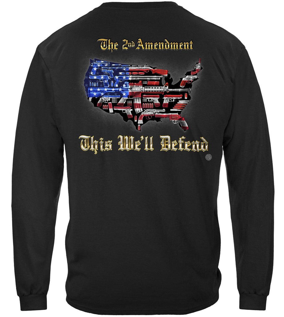 2nd Amendment This We'll Defend Premium Long Sleeves Shirt