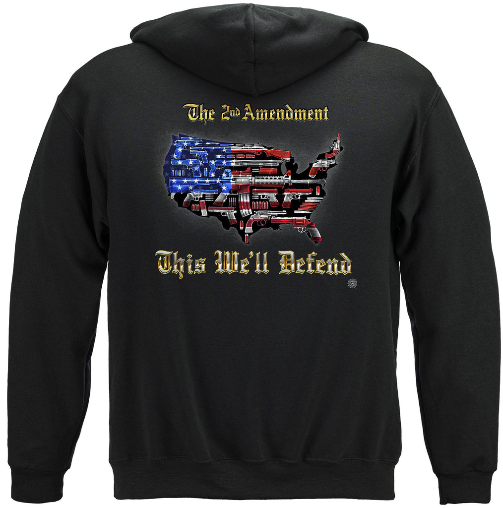 2nd Amendment This We'll Defend Premium Hoodie Sweatshirt