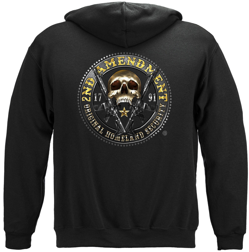 2nd Amendment Homeland Security Premium Hoodie Sweatshirt