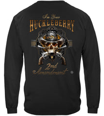 2nd Amendment I Am Your HuckleBerry Premium Long Sleeves Shirt