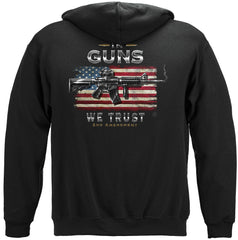 2nd Amendment In Guns We Trust Premium Hoodie Sweatshirt