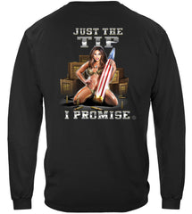 2nd Amendment Just the Tip Premium Long Sleeves Shirt
