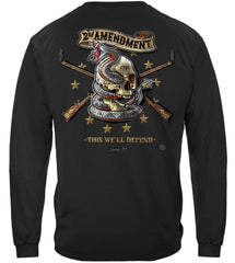 2nd Amendment Tattoo This We'll Defend Premium Long Sleeves Shirt