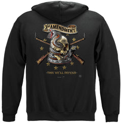 2nd Amendment Tattoo This We'll Defend Premium Hoodie Sweatshirt