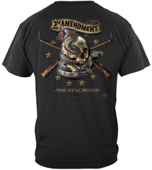 2nd Amendment Tattoo This We'll Defend Premium T-Shirt