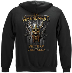 2nd Amendment Viking Warrior Premium Hoodie Sweatshirt