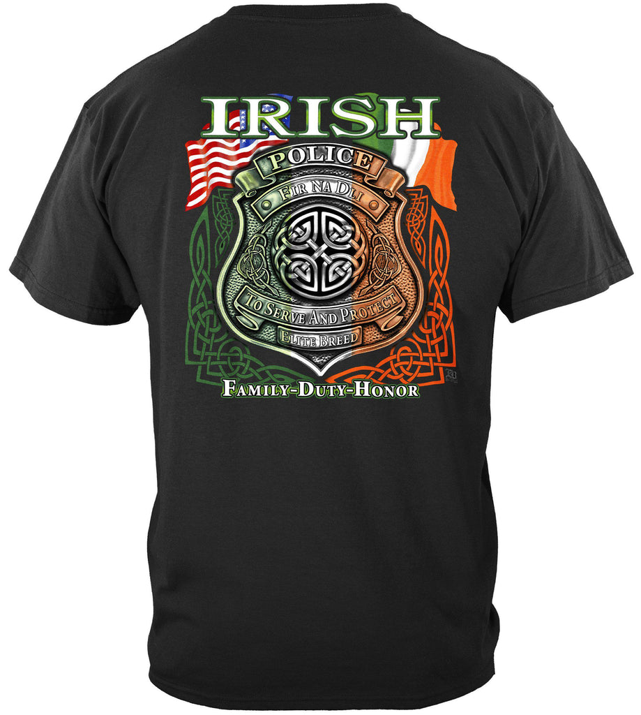 Elite Breed Irish American Police Premium T-Shirt