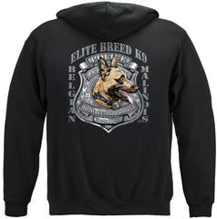 Elite Breed Kalinois K9 Police Dog Premium Hoodie Sweatshirt