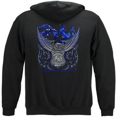 Elite Breed Eagle Police Law Enforcement Premium Hoodie Sweatshirt