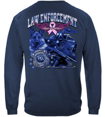 Elite Breed Police Fight Cancer Premium Long Sleeve T-Shirt